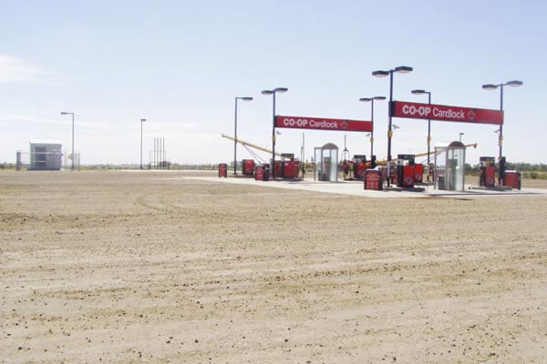 Co-Op Oil Stations