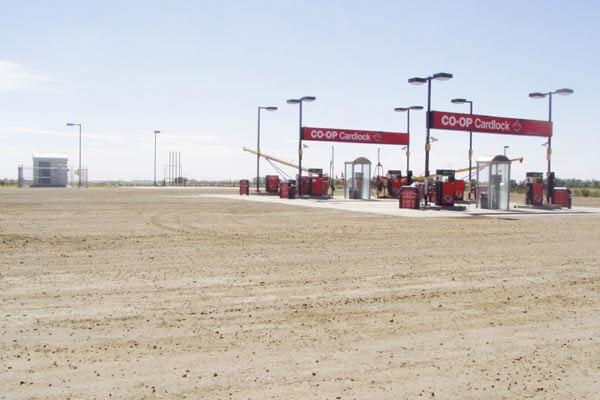 Co-Op Oil Stations