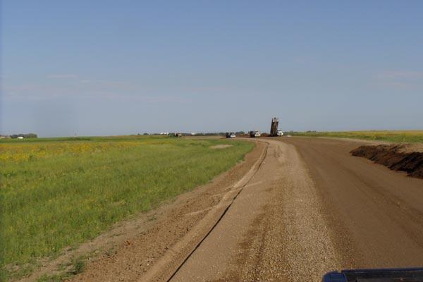 Dirt Road Graded