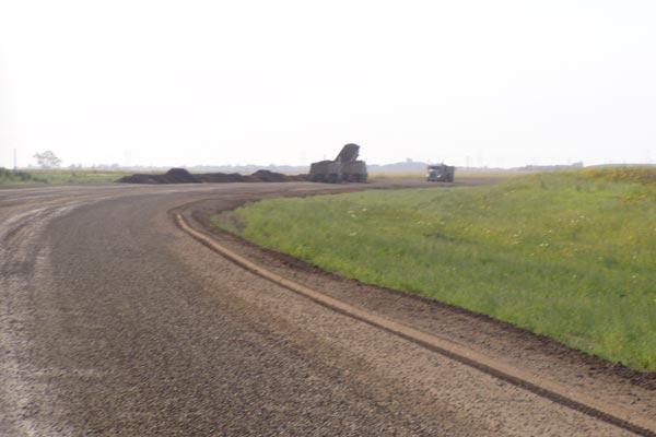 Graded Dirt Road Estevan